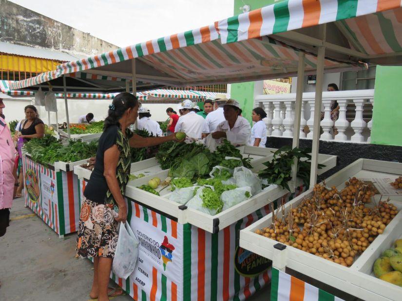 Barracas Agricultura Familia Maranhão